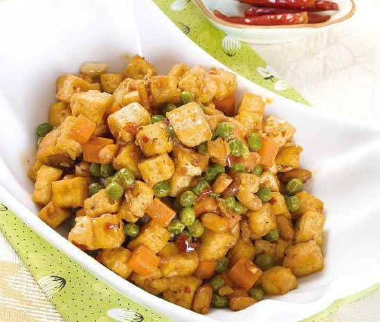 素炒辣豆丁怎么做?素炒辣豆丁的家常做法