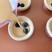会爆浆的蓝莓蛋挞的做法图解6