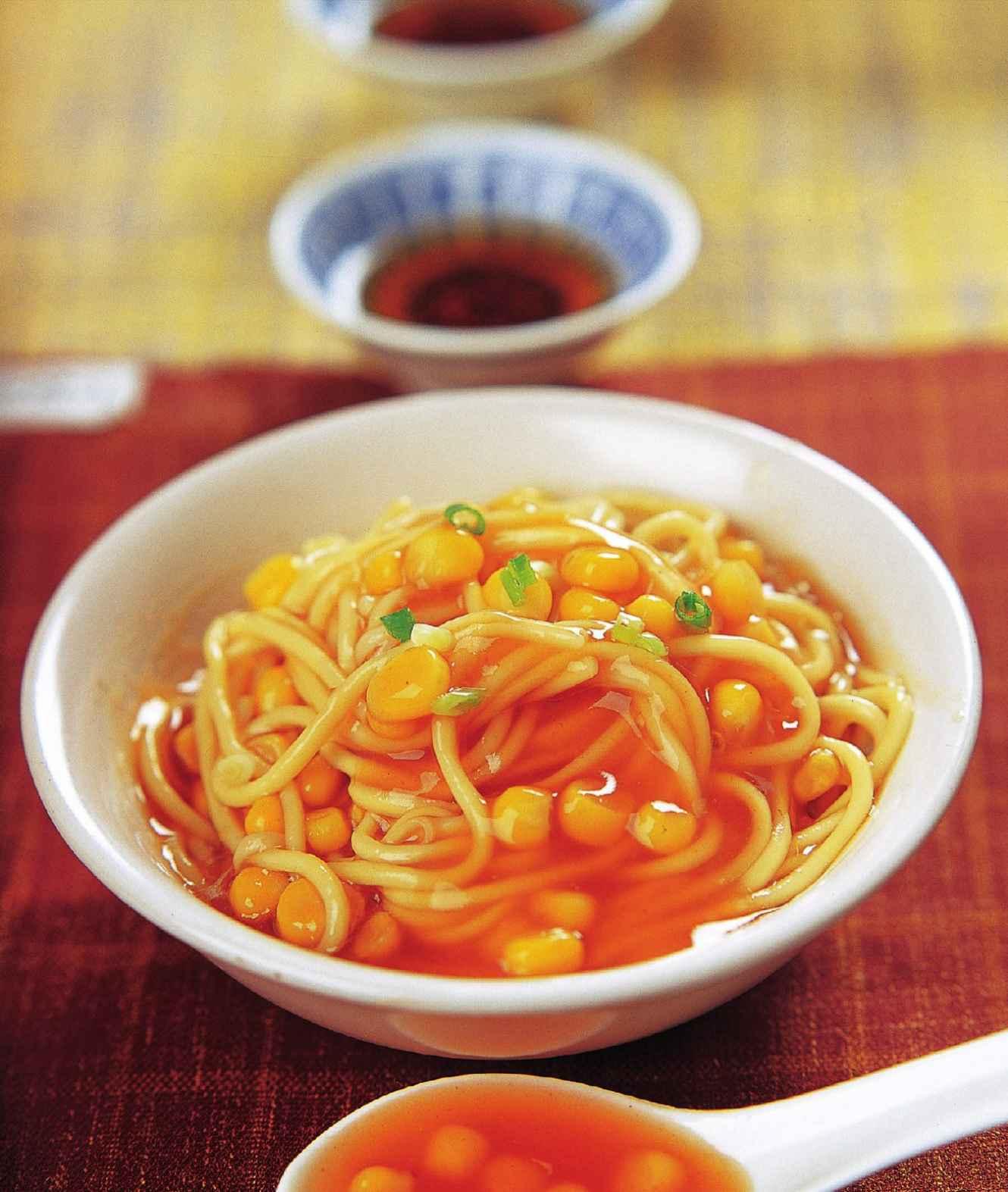 玉米番茄酱拌面怎么做?玉米番茄酱拌面的家常做法