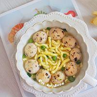 海参鱼肠煮小米面条的做法图解9