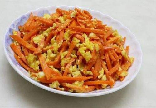 红萝卜的做法大全