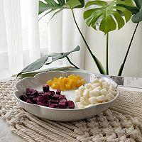 秋季宝宝开胃美食:紫薯水果粥的做法图解2
