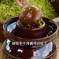 #巨下饭的家常菜#秋季腌老南瓜藤,酸脆爽口又开胃的做法图解6