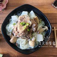 秋季润燥:黑豚筒骨萝卜汤的做法图解7