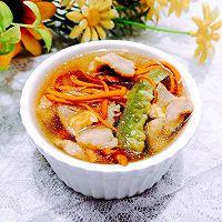 #入秋滋补正当时#秋季第一瓜•丝瓜虫草瘦肉汤的做法图解15